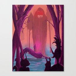Jabberwocky. Canvas Print