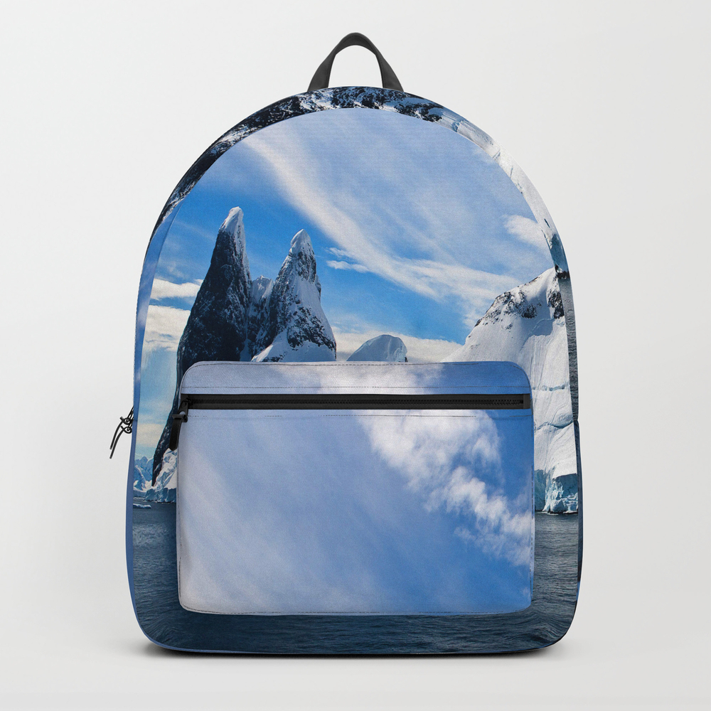Greatest Island Backpack by Cryptoman