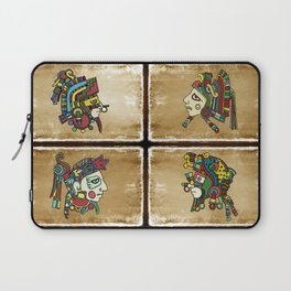 mexican warriors Laptop Sleeve