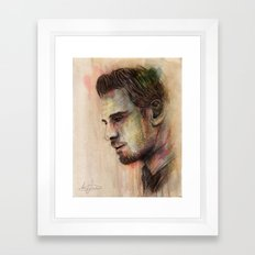 Michael Fassbender Framed Art Print