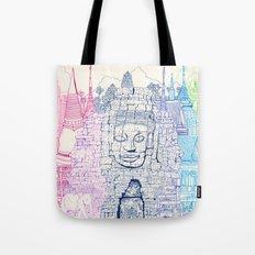 Angkor Wat & Thailand Tote Bag