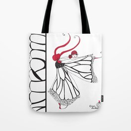 Katharina- Lady butterfly Tote Bag
