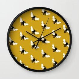 Bee world Wall Clock