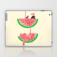 watermelon falls Laptop & iPad Skin