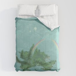 One Day I'll Fly Away Comforters