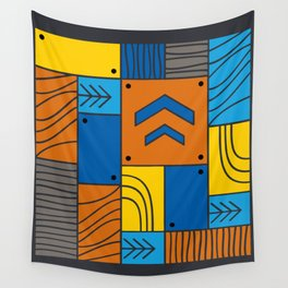 Pattern: abstract forest Wall Tapestry