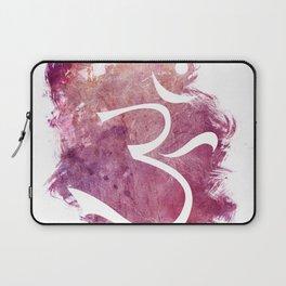 watercolor om 01 Laptop Sleeve
