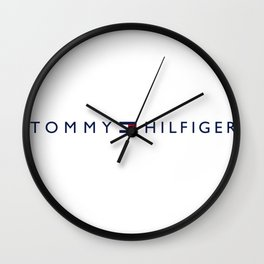 Tommy Hilfiger logo Wall Clock