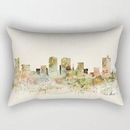 fort worth texas Rectangular Pillow