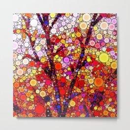 Planting Cherry Trees Metal Print