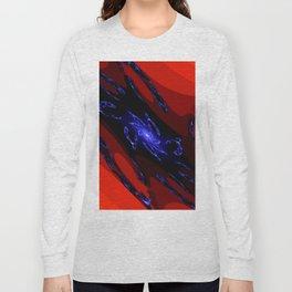 doppel deep blue Long Sleeve T-shirt