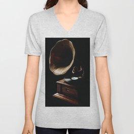 Gramophone Unisex V-Neck