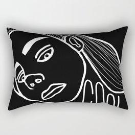 She's a Cool Girl Rectangular Pillow
