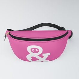 Peace and Love (pink edition) Fanny Pack