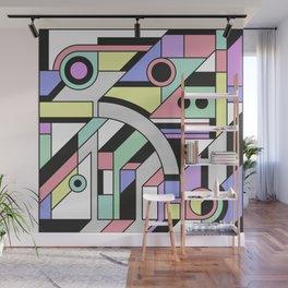 De Stijl Abstract Geometric Artwork Wall Mural