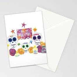 Dia de Muertos / Day of the Dead Stationery Cards