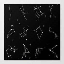 Astrology Canvas Print