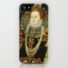 Portrait of Elizabeth I iPhone Case
