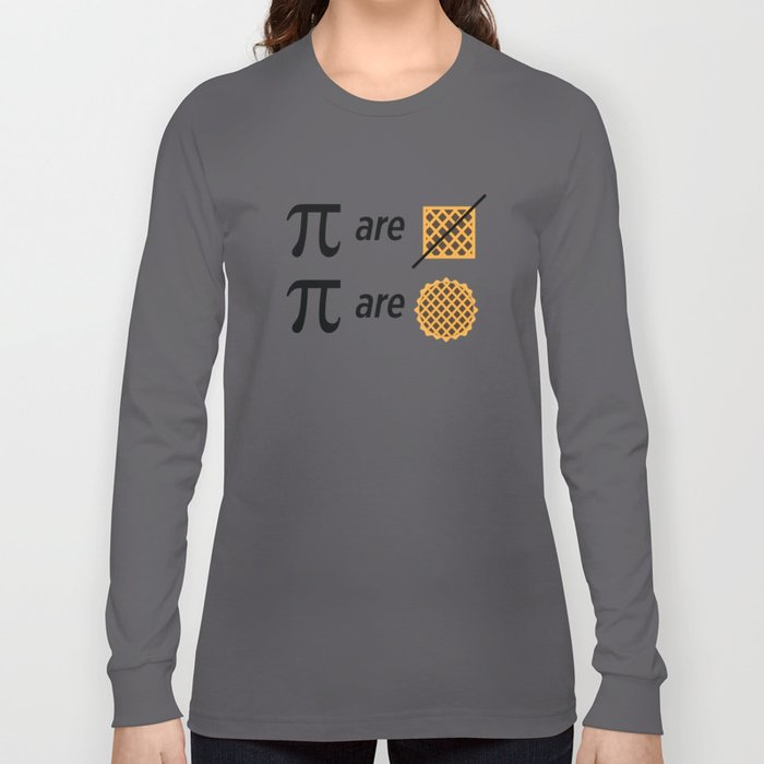 Mike Montgomery's Pi Joke Long Sleeve T-shirt