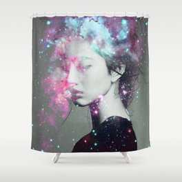 Explosive thoughts Shower Curtain
