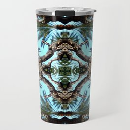 Architectural Palm Trees  Travel Mug