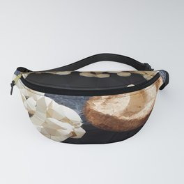 Mushrooms Low Poly Geometric Triangles Fanny Pack