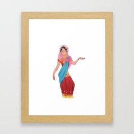 sarithisissocolorful Framed Art Print