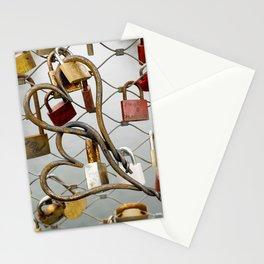 heart-locked Stationery Cards