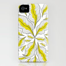 yellow---line iPhone (4, 4s) Slim Case