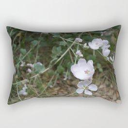 Bush Mallow along the Escondido Falls Trail Rectangular Pillow