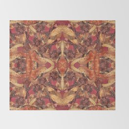 Cinnamon Potpourri Throw Blanket
