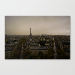 Paris in the Fall Canvas Print