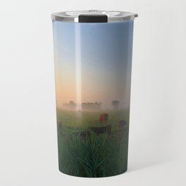 Par un matin de brume Travel Mug
