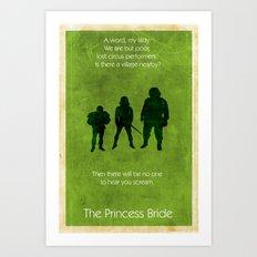 The Princess Bride Art Print