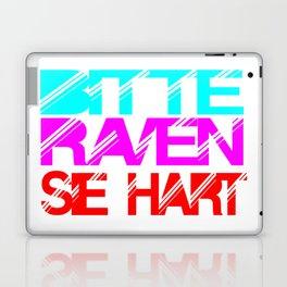 rave slogan Laptop & iPad Skin