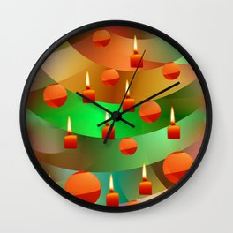 Merry Christmas -2- Wall Clock