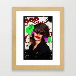 Cover Girl Framed Art Print
