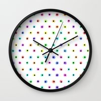 polka Wall Clocks featuring POLKA by Rceeh