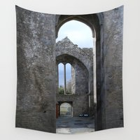 irish Wall Tapestries featuring Irish Arches  by KayleneMcKenney