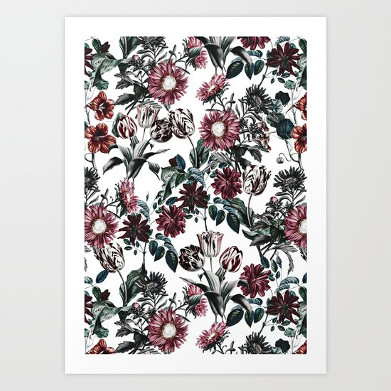 VINTAGE GARDEN VIII Art Print