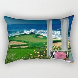 Balcony View Rectangular Pillow