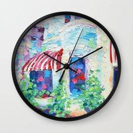 P Street Rowhouses Wall Clock