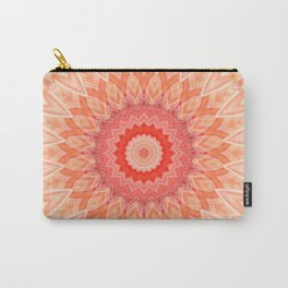 Mandala soft orange Carry-All Pouch