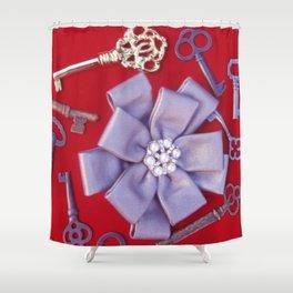 BOW & KEYS Shower Curtain