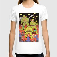 foo fighters T-shirts featuring TURTLES FIGHTERS - REVENGE by Jack Teagle