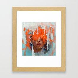 Fire with Fire Framed Art Print