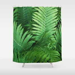 Fern Photography | Tropical Leaves | Nature | Jungle | Rainforest | Tropical | Minimalism Shower Curtain