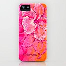 Celebrate iPhone Case