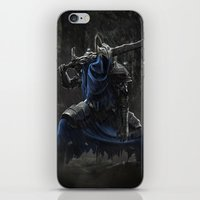 dark souls iPhone & iPod Skins featuring Artorias (Dark Souls fanart) by Artur Jag