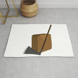 Blade and Block Rug